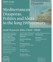Mediterranean Diasporas. Politics and Ideas in the long 19th century.