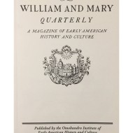 © William and Mary Quarterly