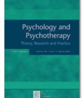 Psychology and Psychotherapy: Theory, Research and Practice